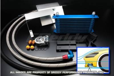 Greddy - Honda S2000 Greddy Oil Cooler Kit - 12054609