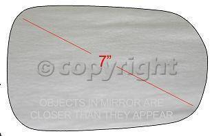 Factory OEM Auto Parts - OEM Mirrors - OEM - Mirror Glass Rh (Passenger Side)