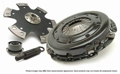 Performance Parts - Performance Clutches - Fidanza - Chevrolet Corvette Fidanza Five Point Four Clutch - 390834