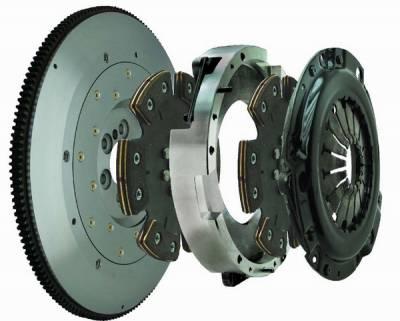 Performance Parts - Performance Clutches - Fidanza - Pontiac Firebird Fidanza Twin Disc Clutch Kit - Seven Point Six - 398576