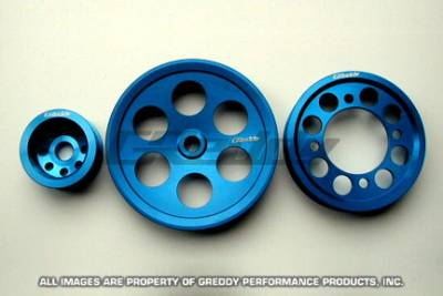 Performance Parts - Pulleys - Greddy - Toyota Supra Greddy Pulley Set - 13512102