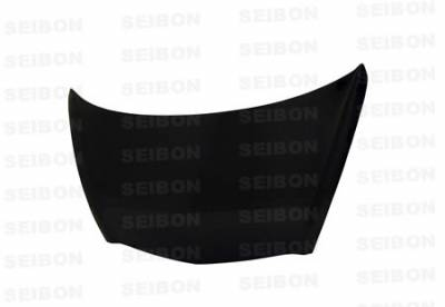 Grilles - Custom Fit Grilles - Seibon - Honda Fit Seibon MG Style Carbon Fiber Grille - FG0708HDFIT-MG