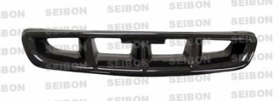 Grilles - Custom Fit Grilles - Seibon - Honda Civic Seibon MG Style Carbon Fiber Grille - FG9698HDCV-MG
