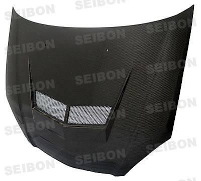 RSX - Front Bumper - Seibon - Acura RSX Seibon SP Style Carbon Fiber Front Lip - FL0204ACRSX-SP