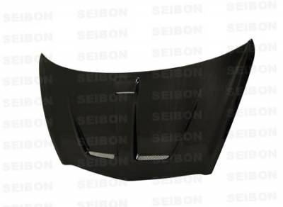 Fit - Front Bumper - Seibon - Honda Fit Seibon MG Style Carbon Fiber Front Lip - FL0708HDFIT-MG
