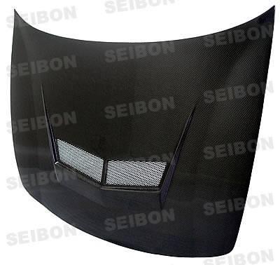 Integra 2Dr - Front Bumper - Seibon - Acura Integra Seibon TF Style Carbon Fiber Front Lip - FL9401ACITR-TF