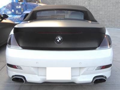 6 Series - Rear Add On - DTM Fiberwerkz - BMW 6 Series DTM Fiberwerkz ACS Style Rear Apron - E63/E64 ACS