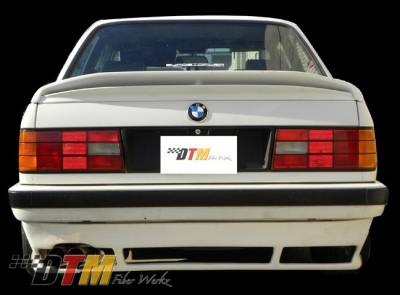 3 Series 2Dr - Rear Add On - DTM Fiberwerkz - BMW 3 Series DTM Fiberwerkz US DTM Style Rear Apron - E30 Euro DTM