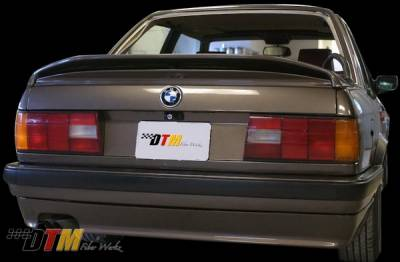 3 Series 2Dr - Rear Add On - DTM Fiberwerkz - BMW 3 Series DTM Fiberwerkz Mtech II Style Rear Apron - E30-MTECH-II
