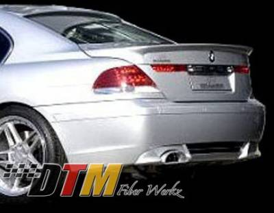 7 Series - Rear Add On - DTM Fiberwerkz - BMW 7 Series DTM Fiberwerkz ACS Style Rear Apron - E6502ACS