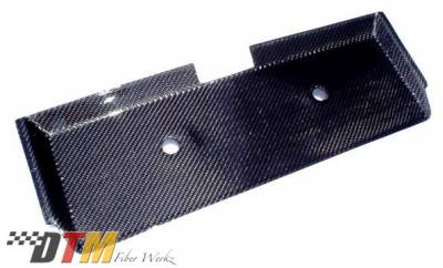 3 Series 2Dr - Rear Add On - DTM Fiberwerkz - BMW 3 Series DTM Fiberwerkz Euro Plate Filler - E30 84-87 Eu