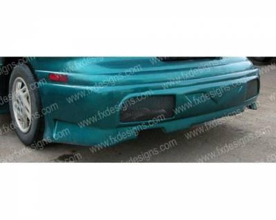 Sunfire - Rear Add On - FX Design - Pontiac Sunfire FX Design Rear Valance - FX-944