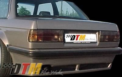 3 Series 2Dr - Rear Add On - DTM Fiberwerkz - BMW 3 Series DTM Fiberwerkz Euro RG Infinity Style Rear Apron - E30 Euro RG