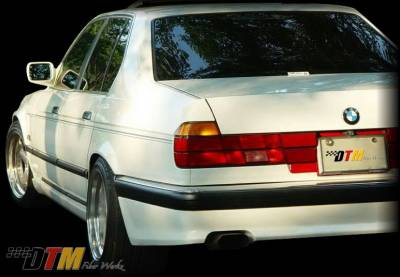 7 Series - Rear Add On - DTM Fiberwerkz - BMW 7 Series DTM Fiberwerkz ACS Style Rear Apron - E32 ACS Styl