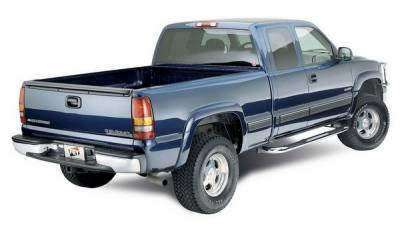 Sierra - Rear Bumper - Fey - GMC Sierra Fey Perfect Match Rear Bumper - 31006