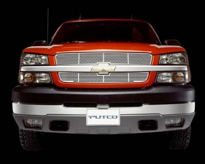 Grilles - Custom Fit Grilles - Putco - Ford Excursion Putco Blade Grille - Stainless Steel - 24121