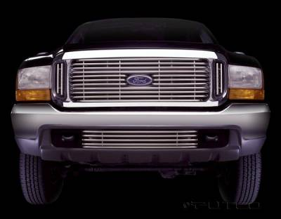 Grilles - Custom Fit Grilles - Putco - Ford Excursion Putco Virtual Tubular Grille - 31105