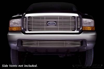 Grilles - Custom Fit Grilles - Putco - Ford Excursion Putco Virtual Tubular Grille - 33105