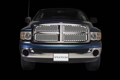 Grilles - Custom Fit Grilles - Putco - Dodge Dakota Putco Designer FX Grille - 64503