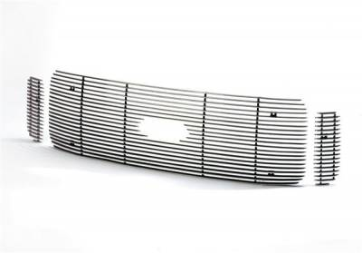Grilles - Custom Fit Grilles - Putco - GMC Savana Putco Shadow Billet Grille - 71124