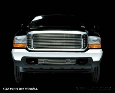 Grilles - Custom Fit Grilles - Putco - Ford Excursion Putco Shadow Billet Grille - 73105