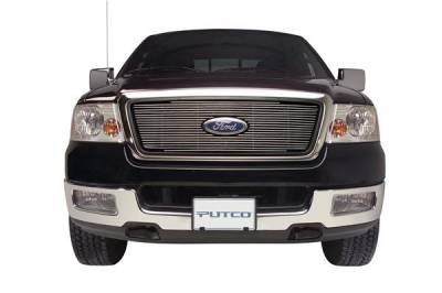 Grilles - Custom Fit Grilles - Putco - Ford Excursion Putco Boss Shadow Billet Grille - 79105