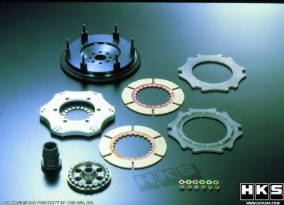 Performance Parts - Performance Clutches - HKS - Mazda RX-7 HKS GD Clutch Pro Multi-Plate
