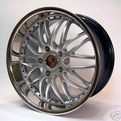 Mod - 19 Inch Challenge Silver Porsche Wheels