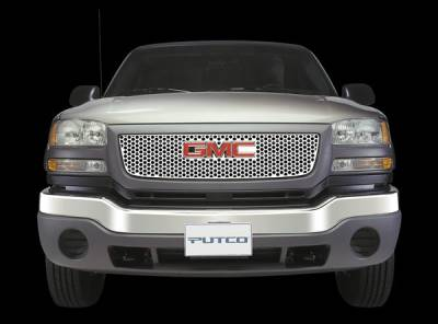 Grilles - Custom Fit Grilles - Putco - GMC Envoy Putco Punch Stainless Steel Grille - 84111