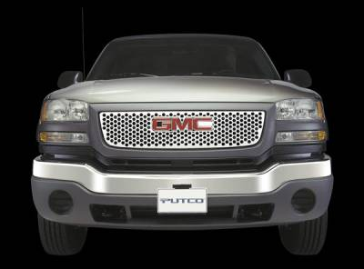 Grilles - Custom Fit Grilles - Putco - GMC Savana Putco Punch Stainless Steel Grille - 84113