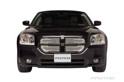 Grilles - Custom Fit Grilles - Putco - Dodge Magnum Putco Punch Stainless Steel Main Grille - 84334