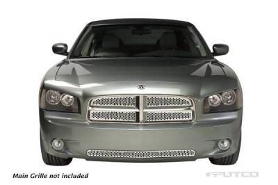 Grilles - Custom Fit Grilles - Putco - Dodge Charger Putco Punch Stainless Steel Bumper Grille - 84433