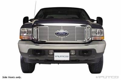 Grilles - Custom Fit Grilles - Putco - Ford Excursion Putco Liquid Grille - 94105