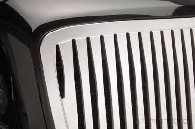 Grilles - Custom Fit Grilles - Putco - Chrysler 300 Putco Liquid 3D Grille - Boss Vertical - 96165