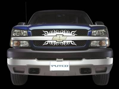 Grilles - Custom Fit Grilles - Putco - Ford Excursion Putco SuperNova Stainless Steel Grille - 300121