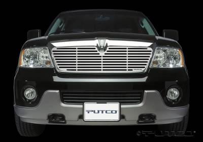 Grilles - Custom Fit Grilles - Putco - Lincoln Navigator Putco Liquid Boss Grille - 302117