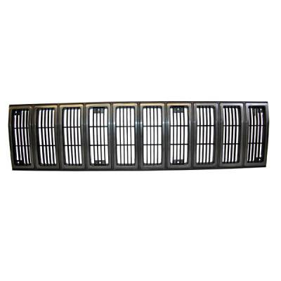 Grilles - Custom Fit Grilles - Omix - Omix Grille Insert - Black & Gray - 12035-25