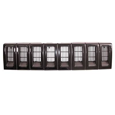 Grilles - Custom Fit Grilles - Omix - Omix Grille - Painted Black - 12037-13