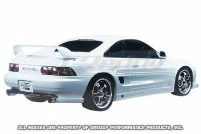 MR2 - Rear Bumper - Greddy - Toyota MR2 Greddy Gracer Aero-Style Rear Under Spoiler - Fiber Reinforced Plastic - 17010066