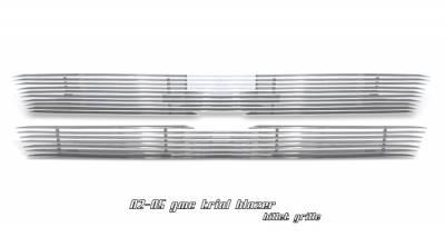 Grilles - Custom Fit Grilles - OptionRacing - Chevrolet Trail Blazer Option Racing Billet Grille - 63-15104