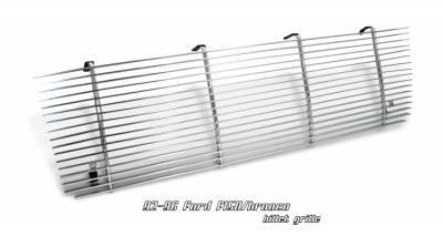 Grilles - Custom Fit Grilles - OptionRacing - Ford Bronco Option Racing Billet Grille - 63-18108