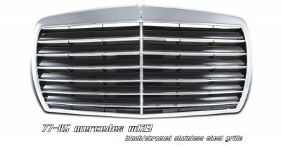 Grilles - Custom Fit Grilles - OptionRacing - Mercedes-Benz E Class Option Racing Sport Grille - 64-32152