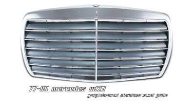 Grilles - Custom Fit Grilles - OptionRacing - Mercedes-Benz E Class Option Racing Sport Grille - 64-32153