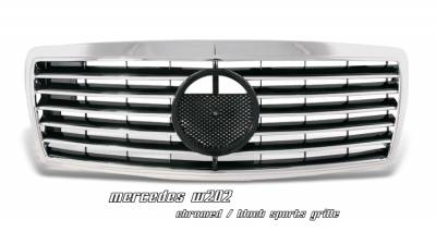 Grilles - Custom Fit Grilles - OptionRacing - Mercedes-Benz C Class Option Racing Sport Grille - 64-32164