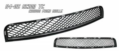 Grilles - Custom Fit Grilles - OptionRacing - Scion tC Option Racing Mesh Sport Grille - 64-41188