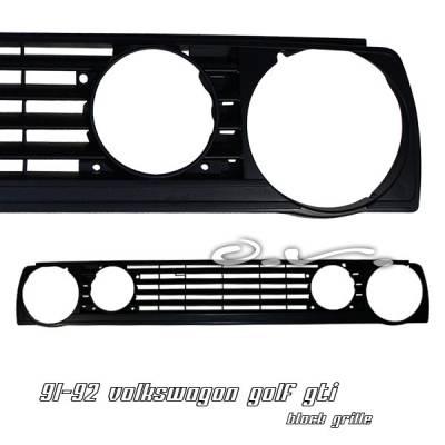 Grilles - Custom Fit Grilles - OptionRacing - Volkswagen Golf Option Racing Sport Grille - 64-45132