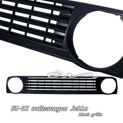 Grilles - Custom Fit Grilles - OptionRacing - Volkswagen Jetta Option Racing Sport Grille - 64-45134
