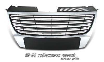 Grilles - Custom Fit Grilles - OptionRacing - Volkswagen Passat Option Racing Sport Grille - 64-45136