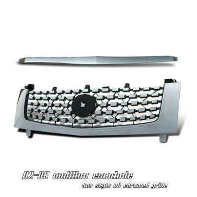 Grilles - Custom Fit Grilles - OptionRacing - Cadillac Escalade Option Racing DNA Grille - 65-14102