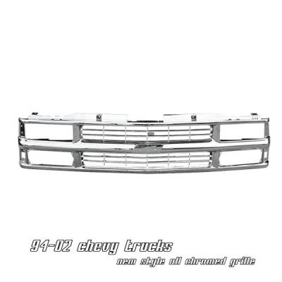 Grilles - Custom Fit Grilles - OptionRacing - Chevrolet CK Truck Option Racing OEM Grille - 65-15111